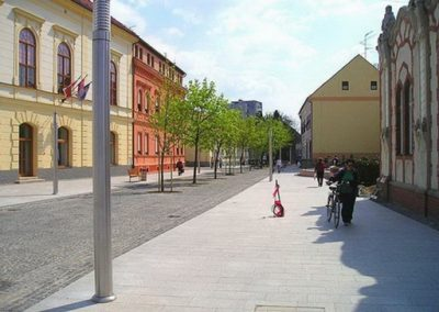 Javna rasvjeta pješačke zone – Čakovec